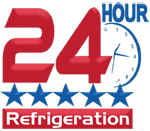 24 Hour Refrigeration - Logo