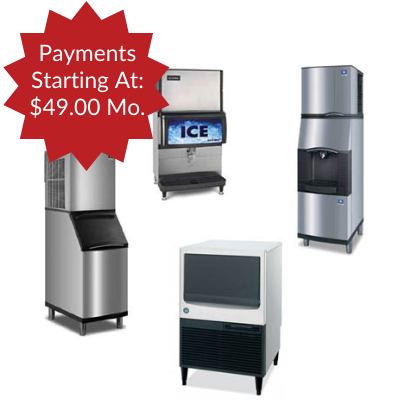 Ice Machine Leasing - Starting at $49.00 Month